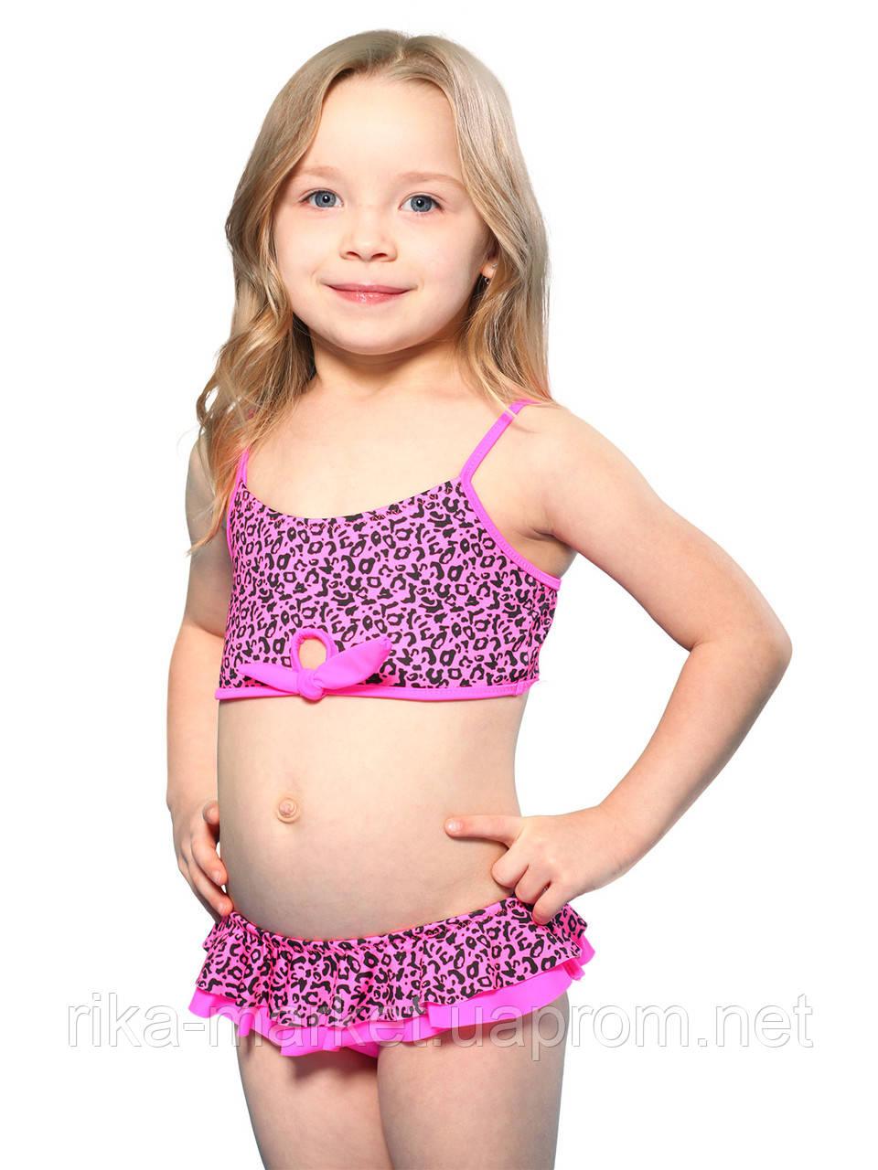 Раздельный купальник для девочки Keyzi, от 2 до 6 лет, Panther 2psc