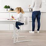 IKEA LANGUR Детское кресло, белое (192.526.15), фото 2