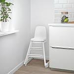 IKEA LANGUR Детское кресло, белое (192.526.15), фото 3