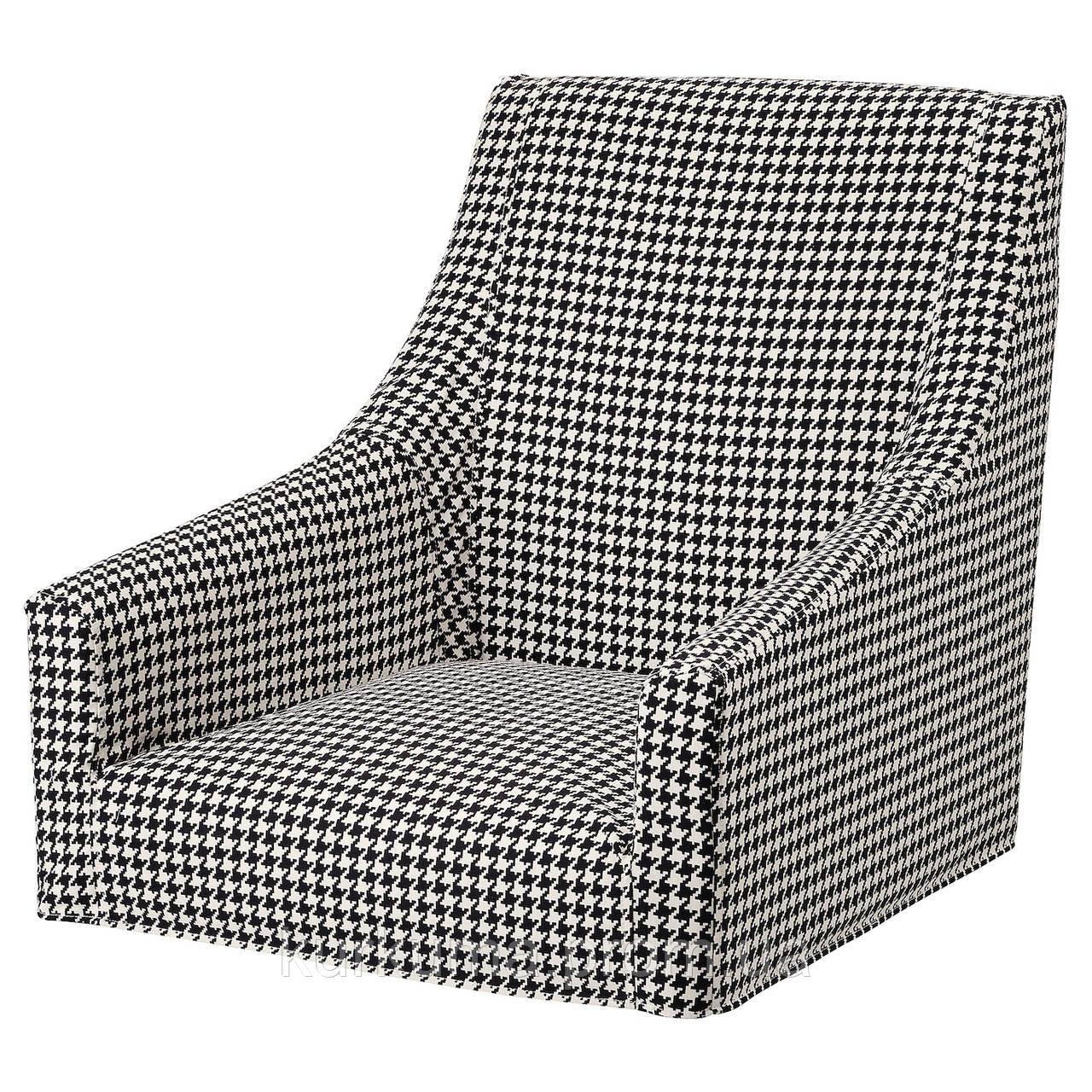 IKEA SAKARIAS Чехол для стула со спинкой, Vibberbo (704.635.82)