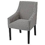IKEA SAKARIAS Чехол для стула со спинкой, Vibberbo (704.635.82), фото 5