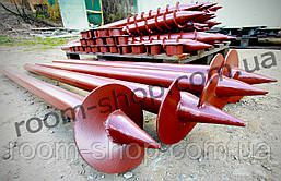 Однолопастная винтовая свая (паля) диаметром 89 мм., длиною 6 метров, фото 2