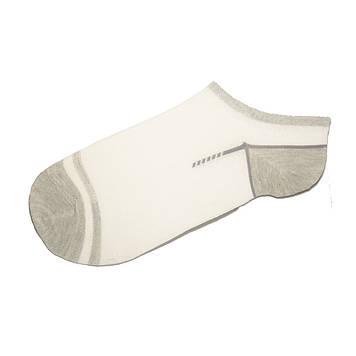 Носки мужские короткие тонкие с сеткой Белый