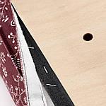 IKEA HENRIKSDAL Стул, белый, Ryrane темно-красный (793.370.37), фото 3