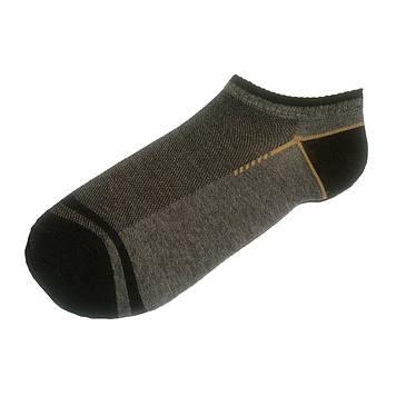 Носки мужские короткие тонкие с сеткой Серый