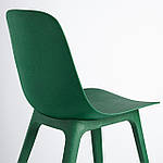 IKEA ODGER Стул, зеленый (304.374.44), фото 3