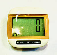Шагомер-клипса 3 в 1 (калории, количество шагов, расстояние), фото 1