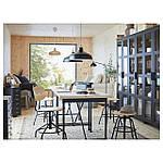 IKEA KULLABERG Стол, сосна, черный, 110x70 см (691.625.99), фото 2
