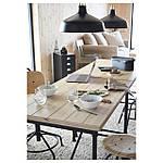 IKEA KULLABERG Стол, сосна, черный, 110x70 см (691.625.99), фото 3