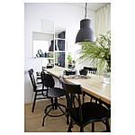 IKEA KULLABERG Стол, сосна, черный, 110x70 см (691.625.99), фото 4