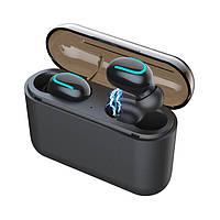 Бездротові навушники HBQ Q32 TWS Bluetooth навушники вкладиші Чорний