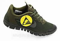 Кроссовки мужские Nike Free Run 3.0 (Лицензия), хаки