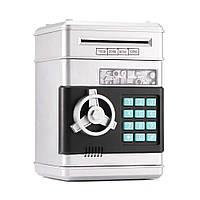 Копилка для купюр SafeBox серебристый (S-18625)