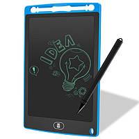 "Планшет для рисования детский Writing Tablet LCD 8.5"" синий (E-18618)"