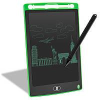 """Планшет для рисования детский Writing Tablet LCD 8.5"""" зелёный (E-18610)"""