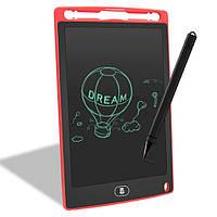 """Планшет для рисования детский Writing Tablet LCD 8.5"""" красный (E-18603)"""