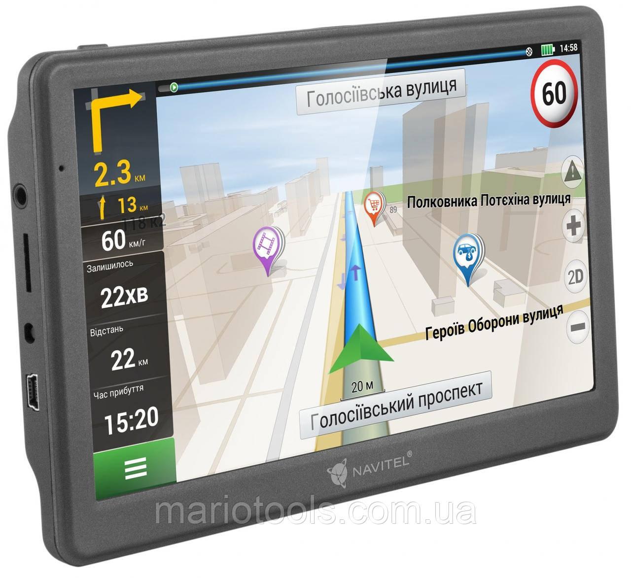 """Автомобільний GPS-навігатор Navitel 7"""" ddr2-128mb, 8gb HD\ємнісний екран"""