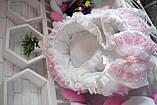 Люлька переноска для новорожденного,люлька на выписку,колыбелька для малыша,переноска для девочки, фото 6