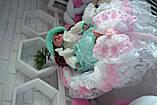 Люлька переноска для новорожденного,люлька на выписку,колыбелька для малыша,переноска для девочки, фото 7