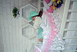 Люлька переноска для новорожденного,люлька на выписку,колыбелька для малыша,переноска для девочки, фото 9