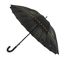 Зонтик-трость полуавтомат Max NEW LOOK Черный (1001-6)