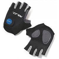 Перчатки для фитнеса XLC CG-S05 Columbia, черно-серые, M (2500140100)