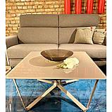 Журнальный столик LUTON S мокко глянец, фото 3