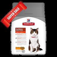 Сухой корм для кошек Hill's Science Plan Feline Adult Hairball Control Chicken 5 кг