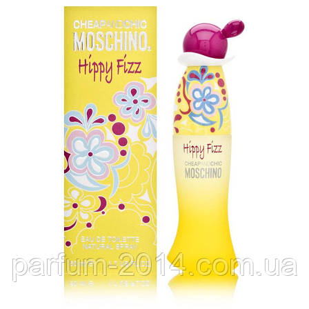 Женская туалетная вода MOSCHINO CHEAP & CHIC HIPPY FIZZ, фото 2