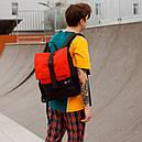 Рюкзак чёрного цвета бренд ТУР модель Piligrim, фото 4