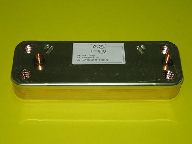 Теплообменник вторичный (10 пластин) 5686660 Westen, Baxi