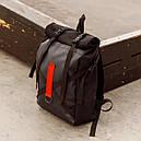Рюкзак роллтоп чёрного цвета бренд ТУР модель Джекс, фото 3