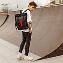 Рюкзак роллтоп чёрного цвета бренд ТУР модель Джекс, фото 5
