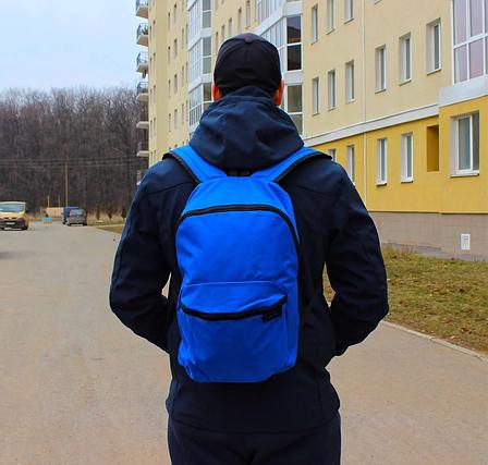Рюкзак NEWFEEL Abeona синий 17л, фото 2