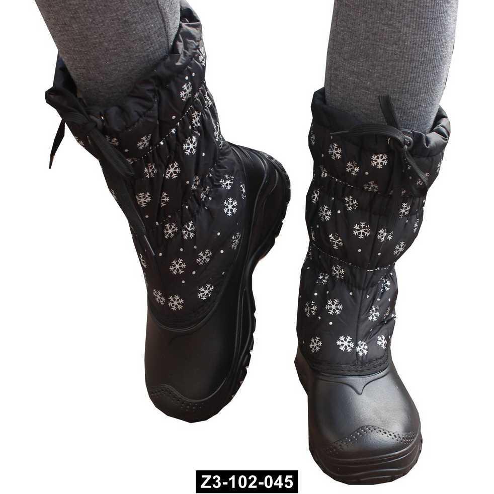 Женские зимние непромокающие сапоги, 40 размер / 26.5 см, для сырой погоды, Z3-102-045