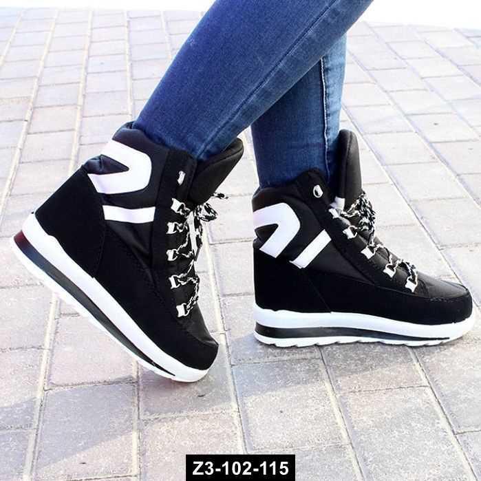 Зимние ботинки - кроссовки, 35-41 размер, Z3-102-115