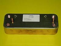 Теплообменник вторичный (16 пластин) 5655780 (5686690) Westen, Baxi