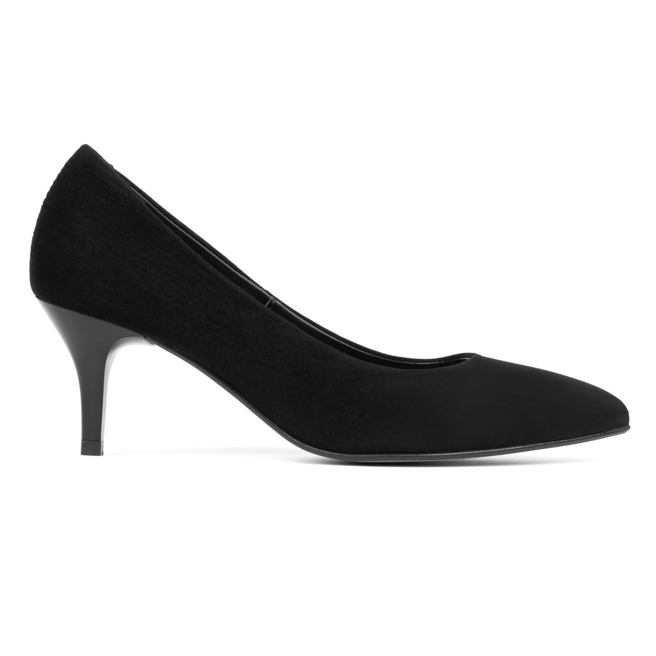 Туфли лодочки Woman's heel черные (О-883)