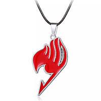 Кулон Хвост феи цвет красный | Fairy Tail