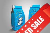 Глиняный наполнитель для кошачьего туалета Polo Neo Крупный Лаванда №4, 5 кг