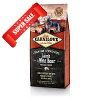 Сухой корм для собак Carnilove Dog Adult Lamb & Wild Boar 1,5 кг