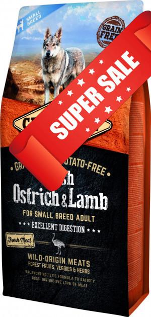 Сухой корм для собак Carnilove Dog Adult Small Breed Fresh Ostrich & Lamb 6 кг