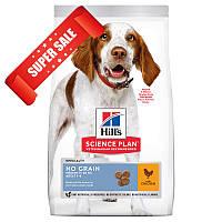 Сухой корм для собак Hill's Science Plan Canine Adult Medium No Grain Chicken 2,5 кг