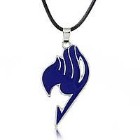 Кулон Хвост феи цвет синий   Fairy Tail