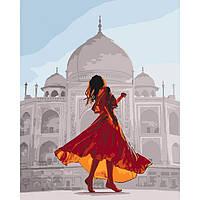 Картина по номерам Жемчужина Индии ТМ Идейка 40 х 50 см КНО4639, фото 1
