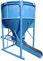 Бункер бетонной массы ББМ-2 Высота загрузки 2,5м, 2м3