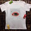 Мужская футболка с принтом - Глаз