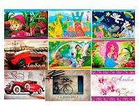 Альбом для рисования А5, 12 листов, 120 г / м2, на скобе, KIDS Line