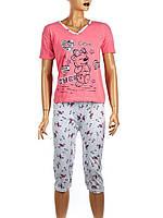 """Пижама женская с бриджами """"K.S.M"""" размер М(42-44)"""