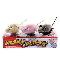"""Набір іграшок на ключику """"Мишки"""" (коробка, 12шт) 8828B р.26*26*5,3см. *"""